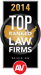 As Seen in Fortune Magazine 2014 Top Ranked Law Firms